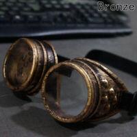 Retro Steam Punk Goggles Steampunk Glasses Vintage Welding Gothic New Cxz