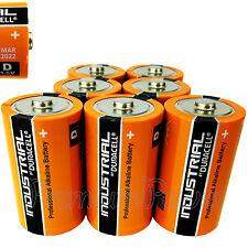 7 x Duracell D Size batteries Industrial Procell Alkaline LR20 MN1300 MONO 1.5V
