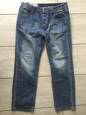 Joe Browns Mens Blue Denim Jeans Size 34 S. Great Condition.