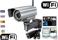 IP CAMERA ESTERNO TELECAMERA WIRELESS VIDEO SORVEGLIANZA INFRAROSSI 3G WIFI PC
