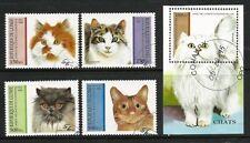 Guinea 1995 - Cat Breeds (5) CTO