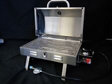 NEW MARINE PORTABLE GAS BBQ STAINLESS STEEL BARBEQUE