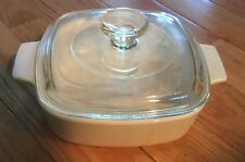 Vintage Corning Ware A -1 – B All White With Pyrex Lid No 23