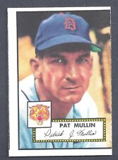 1952 Topps #275 Pat Mullin Outfield Detroit Tigers NM-MT (MC)