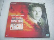 SOTTO IL SEGNO DEL PERICOLO   2LD  laserdisc film in italiano