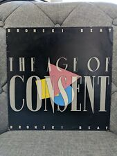 Bronski Beat The Age Of Consent 1984 Bitlp1 A2/B1 Uk White Label Test Pressing!