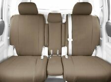 CalTrend 40/20/40 Split Back Seat Covers for Select Toyota RAV4 Leather (Beige)