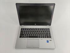 New listing Hp EliteBook Folio 9480M Laptop Intel Core i5 Processor No Ram No Hdd | Parts