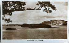 MULROY BAY CO DONEGAL POSTCARD 1930's IRELAND DICKSON LONDONDERRY.