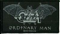 OZZY OSBOURNE ordinary man 2020 WOVEN SEW ON PATCH official merchandise