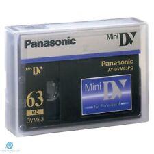 20 Panasonic Cinta Mini Dv Ay-dvm63pq Calidad Profesional 63min-Uk Nuevo Genuino