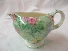 Vintage England Empire Chintzware Creamer Lilac Time
