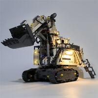 LED Licht Set Für 42100 LEGO Technic Liebherr R 9800 Excavator Kit mit Anleitung