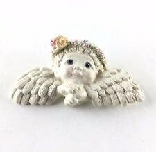 Dreamsicles Vintage 1995 Angel Cherub Figurine Collector Pin Brooch Rare *New*