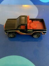 Original 1979 Hot Wheels Henry's Hauling Real Riders Black Truck Goodyear Tires