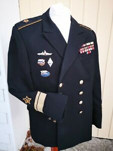 Konteradmiral Admiral 1960 1970 Jahre mit Orden Uniform Russland