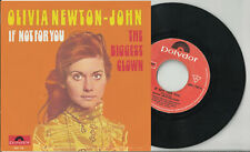 OLIVIA NEWTON-JOHN pic sleeve 45 IF NOT FOR YOU The Biggest Clown Belgium
