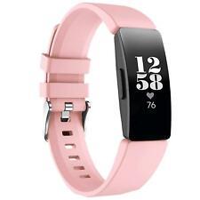 "Ersatz Silikon Armband Für Fitbit Inspire 2 ""S"" Uhren Sport Band Fitness Tracker"