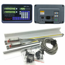 2 Axis Digital Readout Ttl 5um Linear Glass Scale 12amp40 Dro Display Cnc Mill
