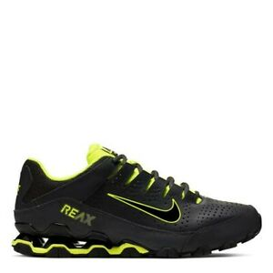 Nike Reax 8 TR Black Yellow Genuine Trainers Casual Shoes UK stock Mens