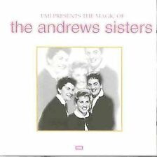 Andrew Sisters EMI Presents The Magic of the Andrews Si CD