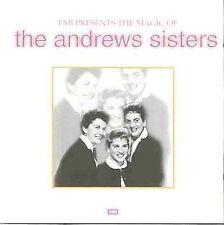 Andrew Sisters : EMI Presents The Magic of the Andrews Si CD
