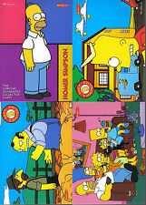 SIMPSONS DOWN UNDER SET OF 4 PROMOTIONAL CARDS
