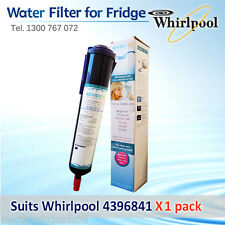 4396841 Whirlpool Fridge Filter  replacement  AQUA BLUE  H20