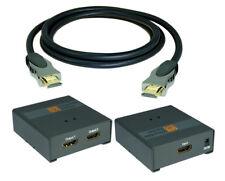 SunshineTronic 1x2 HDMI Splitter + 3x 1m HDMI Kabel | 1080P