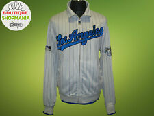 MLB LOS ANGELES DODGERS L COOPERSTOWN Majestic Full Zip Baseball Jacket