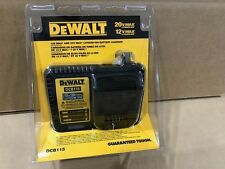 DEWALT DCB115 12V 20V Max Li-Ion Charger 20 Volt Rapid Brand New in Retail Pack.