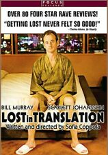 Lost In Translation / Dvd / New And Sealed, Full Screen