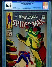 Amazing Spider-Man #67 Marvel Comics 1968 CGC Graded 6.5.