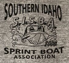 Southern Idaho Sprint Boat Association Racing Tee Men's T-shirt Big XXL