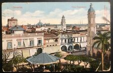 1912 Veracruz Mexico Picture postcard cover To Lillehammer Norway Panoramic View
