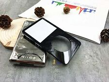 black front faceplate silver back rear housing case cover fr ipod 5th video 30gb