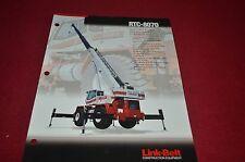 Link Belt RTC-8070 Crane Dealer's Brochure DCPA6 ver3