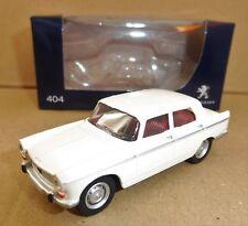 "Peugeot 404 Beige 1965 1/64 ""3 Inche"" Diecast NOREV Produit NEUF !!"