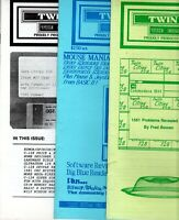 """ITHistory (1988) Newsletters: """"Twin Cities Commodore 128 Journal""""  #19 #20 #21"""