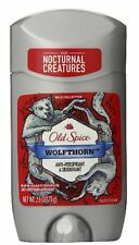 Old Spice Wild Collection Wolfthorn Scent Mens Deodorant 2.6 oz (3 pack)