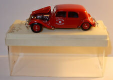 AGE D'OR SOLIDO 4033 CITROEN TRACTION 15 CV SAPEURS POMPIERS 1939 1/43 IN BOX 1