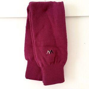 Vintage leg warmers NOS Raspberry Acrylic New! 1980s Legwarmers