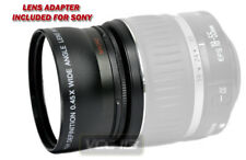 0.45X Wide Angle Lens for Sony DSC-F828 DSC-H2 DSC-H5