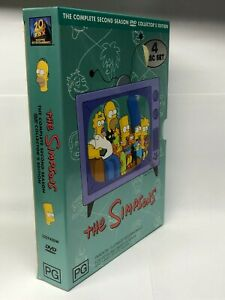The Simpsons - Complete Second Season - 4 DVD Box Set - AusPost with Tracking