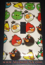 Angry Birds icon Home decor Light Switch Duplex Outlet wall Cover Plate & more