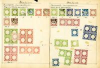 Italy Stamps 50x+ mint/used classic Proof Issues 1800's. Rare