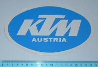 ADESIVO STICKER VINTAGE AUTOCOLLANT AUFKLEBER MOTO TUNING KTM ANNI'80 18x11 cm
