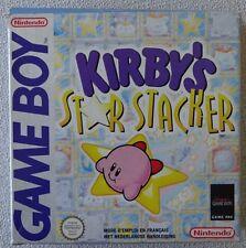 KIRBY'S STAR STACKER - NINTENDO - GAME BOY - NFAH