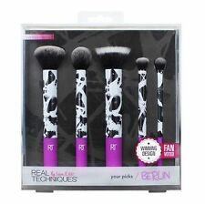 Genuine REAL TECHNIQUES Your Picks BERLIN Makeup Brush Set ✯ BNIB Limited Edt