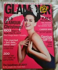 December Glamour Monthly Magazines in English